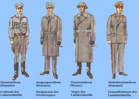 DDR:Dienstgradabzeichen,Felddienstuniform,NVA Luftstreitkräfte,Feldwebel